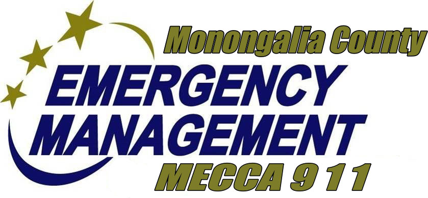 Monongalia County Emergency Management MECCA 911 logo