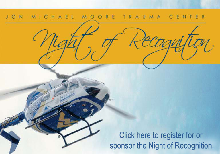 The Jon Michael Moore Trauma Center Night of Recognition web.